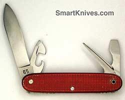 Victorinox Soldier 93mm Aluminum Alox Swiss Army Knives