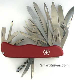Victorinox 111mm Locking Blade Swiss Army Knives