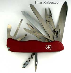 Victorinox 111mm Locking Blade Swiss Army Knives