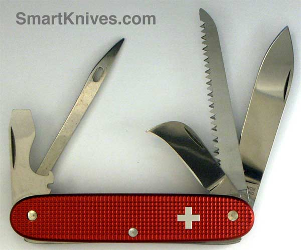 Victorinox First Mate 93mm Aluminum Alox Swiss Army Knife