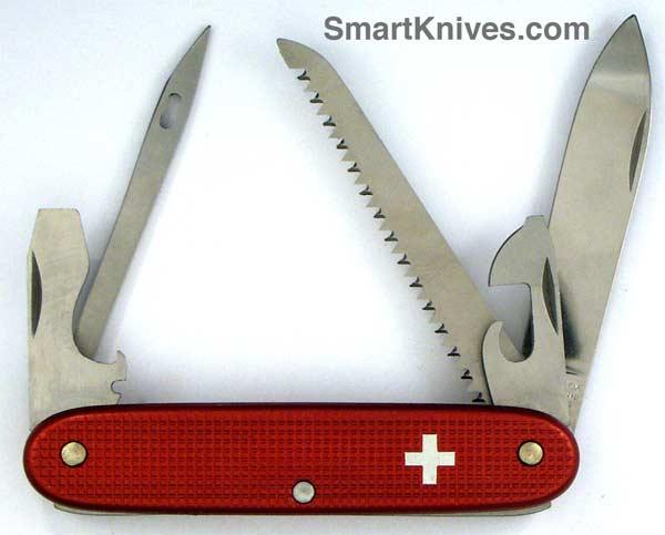 Victorinox Midshipman 93mm Aluminum Alox Swiss Army Knife