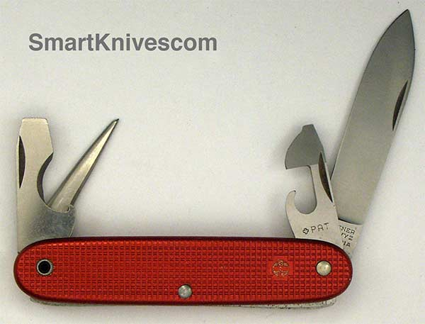 Victorinox And Wenger 1964 Soldier 93mm Aluminum Alox