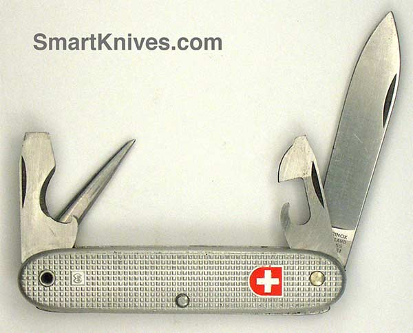 Victorinox And Wenger 1977 Soldier 93mm Aluminum Alox