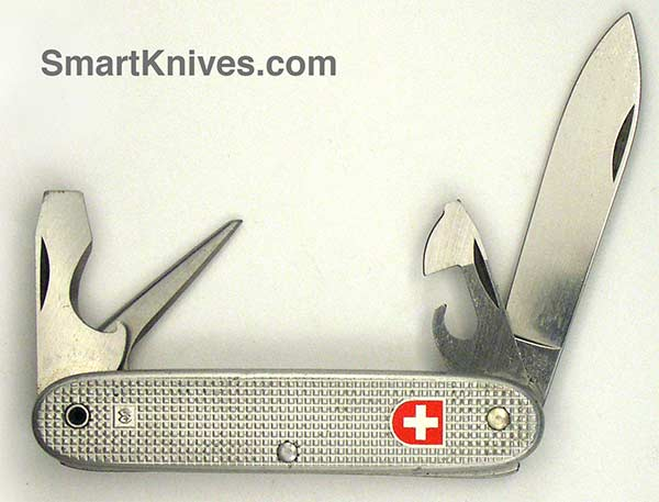 Victorinox And Wenger 1979 Soldier 93mm Aluminum Alox