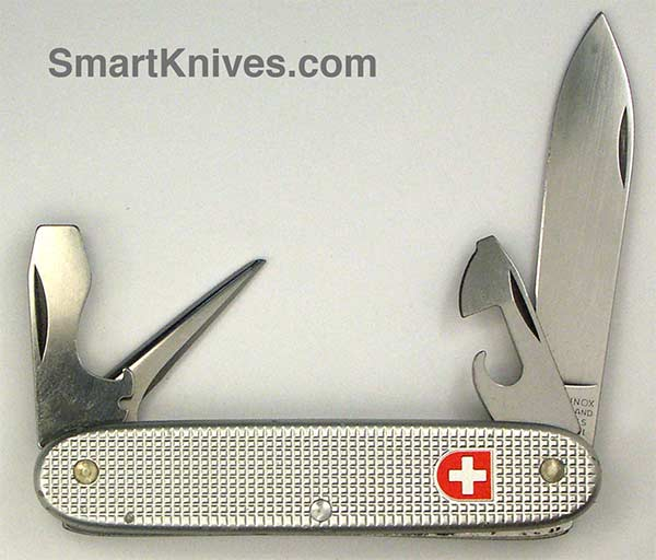 Victorinox And Wenger 1998 Soldier 93mm Aluminum Alox