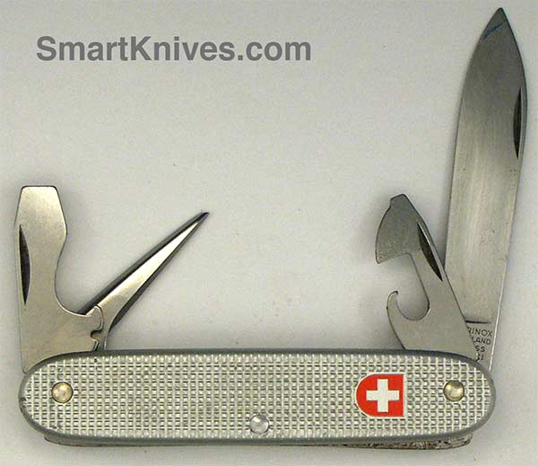 Victorinox And Wenger 2000 Soldier 93mm Aluminum Alox