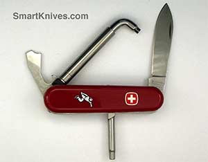 1 Layer And 2 Layer Wenger 85mm Pocket Sized Swiss Army Knives