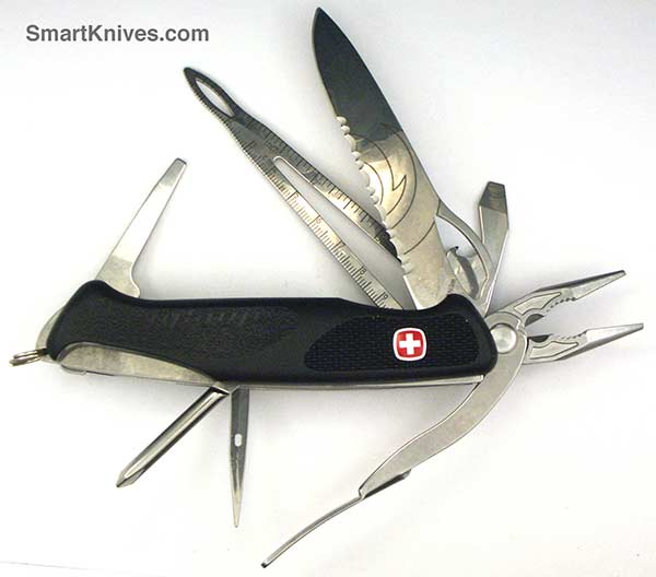 Wenger Alinghi Ranger 181 Locking Blade Swiss Army Knife