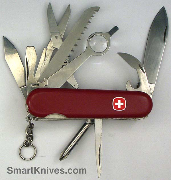 Wenger Backpacker Deluxe 85mm Swiss Army Pocket Knife