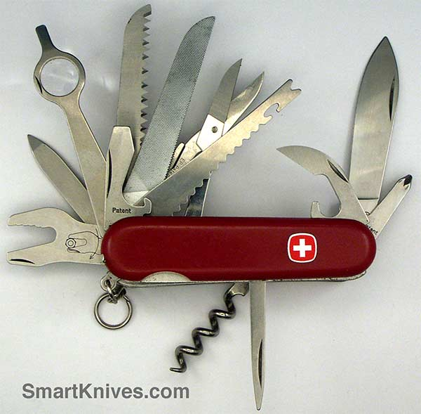 Wenger Champ 85mm Swiss Army Pocket Knife