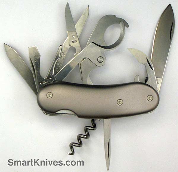 Wenger Porsche Cigar Cutter 85mm Swiss Army Pocket Knife