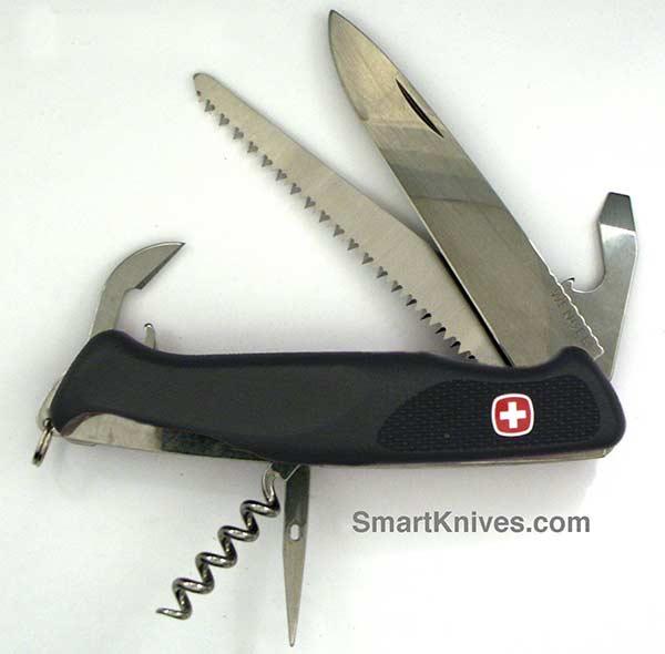 Wenger Ranger 55 Locking Blade Swiss Army Knife