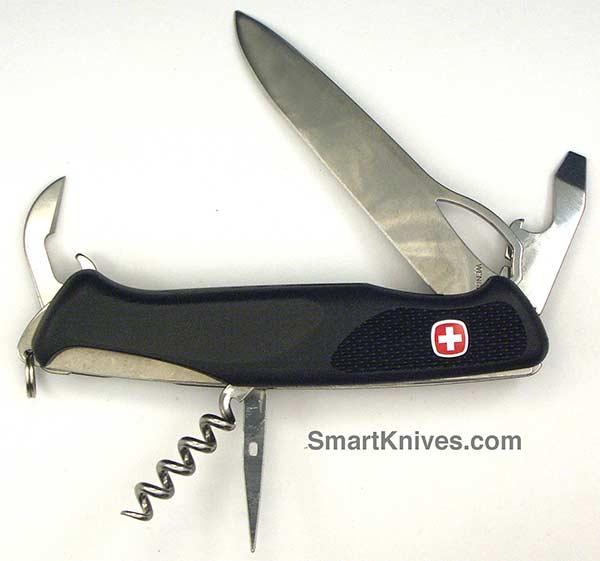 Wenger Rangergrip 61 Locking Blade Swiss Army Knife