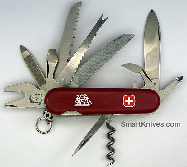 Wenger Seafarer 85mm Swiss Army Pocket Knife