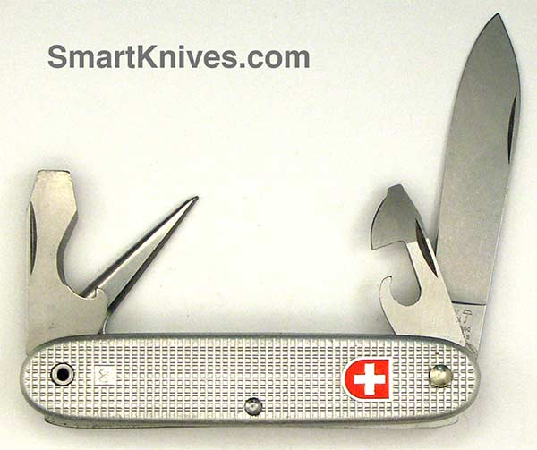 Victorinox And Wenger 1982 Soldier 93mm Aluminum Alox