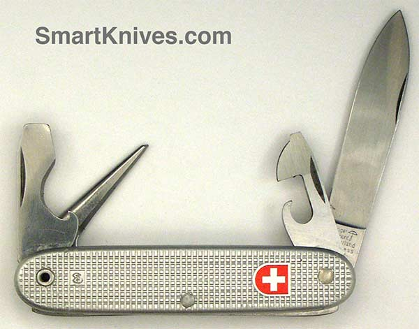 Victorinox And Wenger 1983 Soldier 93mm Aluminum Alox