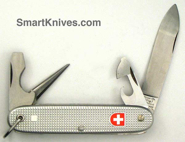Victorinox And Wenger 1984 Soldier 93mm Aluminum Alox