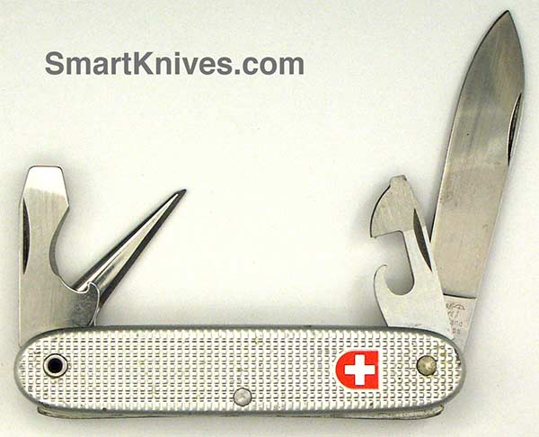 Victorinox And Wenger 1992 Soldier 93mm Aluminum Alox