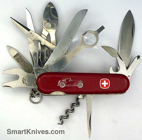 Wenger Tool Chest 85mm Swiss Army Pocket Knife